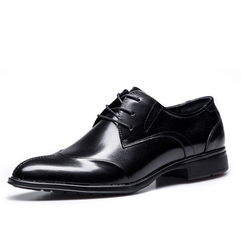 mens leather dress shoes Hight Qulity Genuine Leather Men Shoes Business Shoes Dress Shoes Men 2016