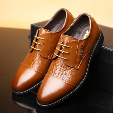 mens leather dress shoes 2016 Fashion Genuine Leather Men Dress Shoes, Business Brand Leather Men Shoes, Casual
