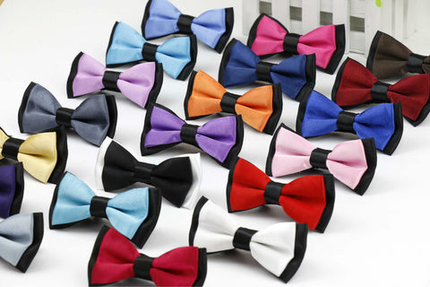 Classic Kids Bow Tie Cute Boys Bowties baby Children Adjustable neckwear