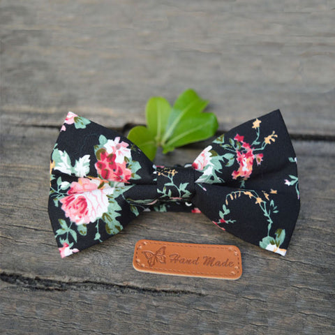 2016 Fashion Butterfly Bow Tie New Floral Bow Tie for Men Wedding Flower Men Cotton Bow Tie  for Men Suit Slim One Piece