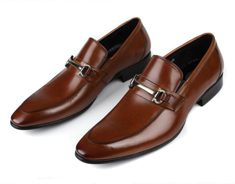 brown tan loafers shoes mens dress shoes genuine leather wedding shoes men office 2016
