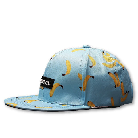Banana Snapback Hat - Blue