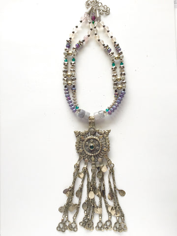 One of A Kind Royalty Statement Necklace - M Renee Design