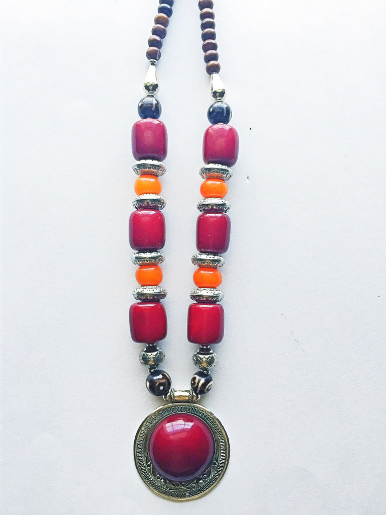 Bohemian statement Necklace - M Renee Design
