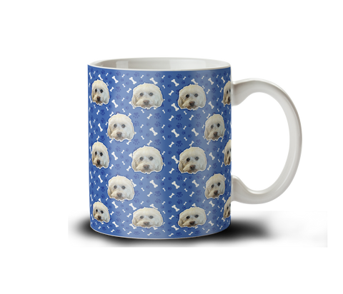 Custom Pet Pattern Coffee Mug (FASTER TURN AROUND)