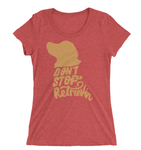 Don't Stop Retrievin' Women's Triblend T-shirt