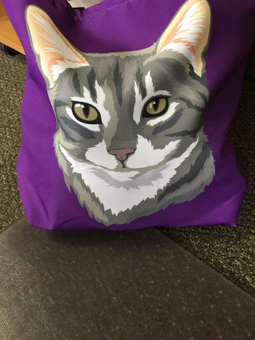 Custom Pet Tote Bag (Trending)