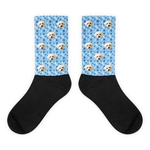 Custom Pet Pattern Printed Socks (FASTER TURN AROUND)