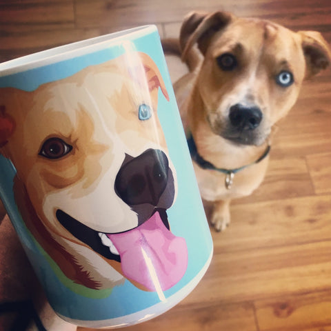 Custom Pet Printed Coffee Mugs [BRAND new]