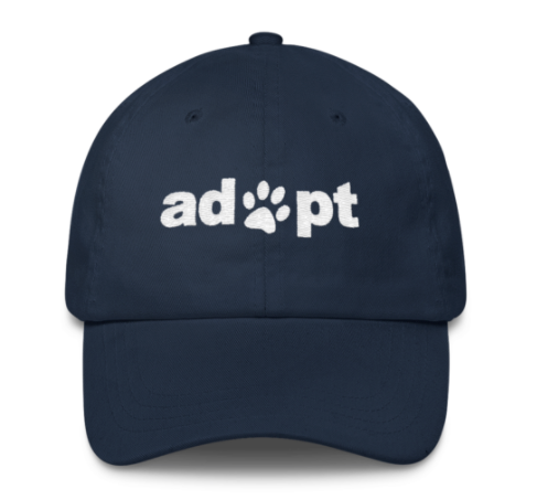 Adopt Don't Shop Snap back Unisex Dad Hat