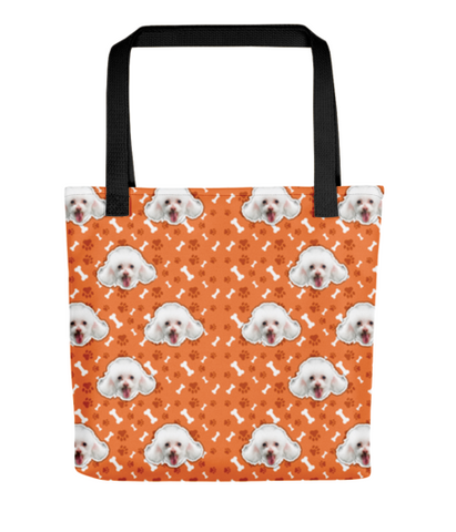 Custom Pet Pattern Printed All-Over Tote Bag (FASTER Turn Around)