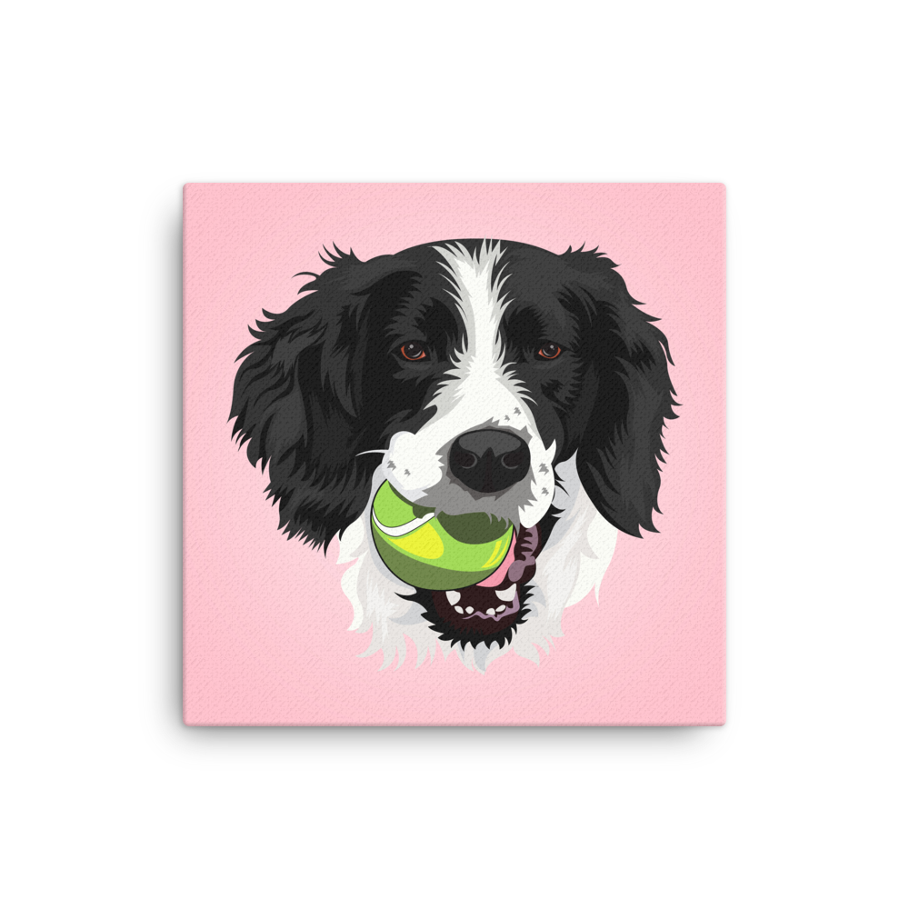 Custom Pet Canvas Wall Art – Print Your Pet