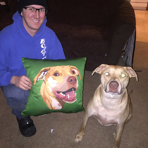 Custom Pet Couch Premium Stuffed Pillow [BRAND new]