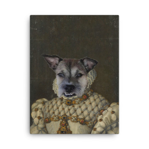 The Princess 100% Custom Pet Canvas