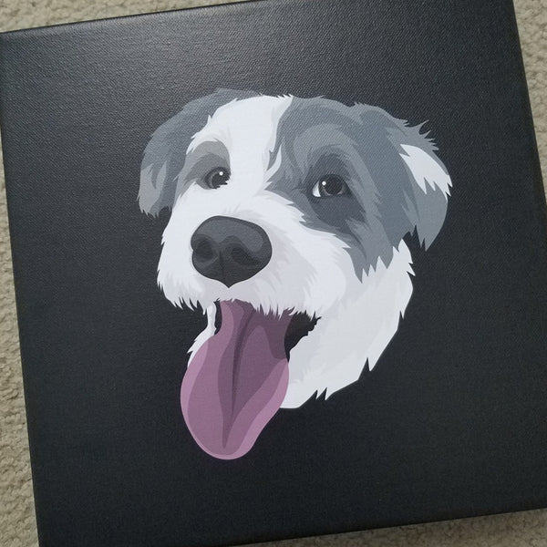 Custom Pet Canvas Wall Art