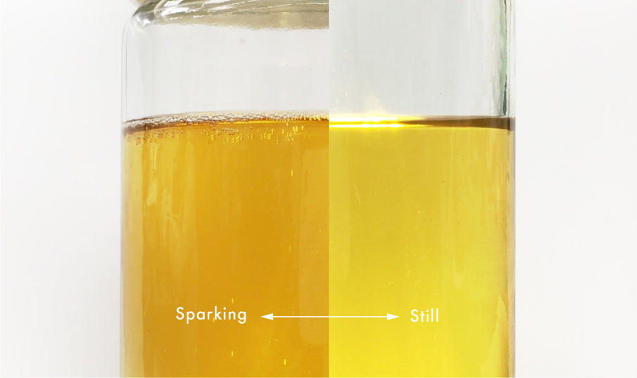 How to create a bubbly hard cider at home?