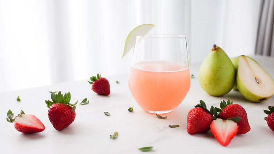 Strawberry Pear Cider