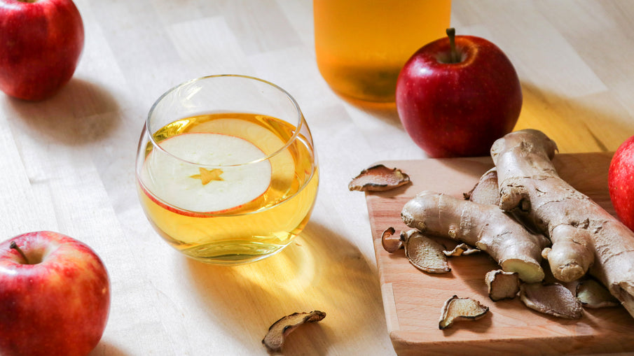 Apple Ginger Cider‐spice up your cider!