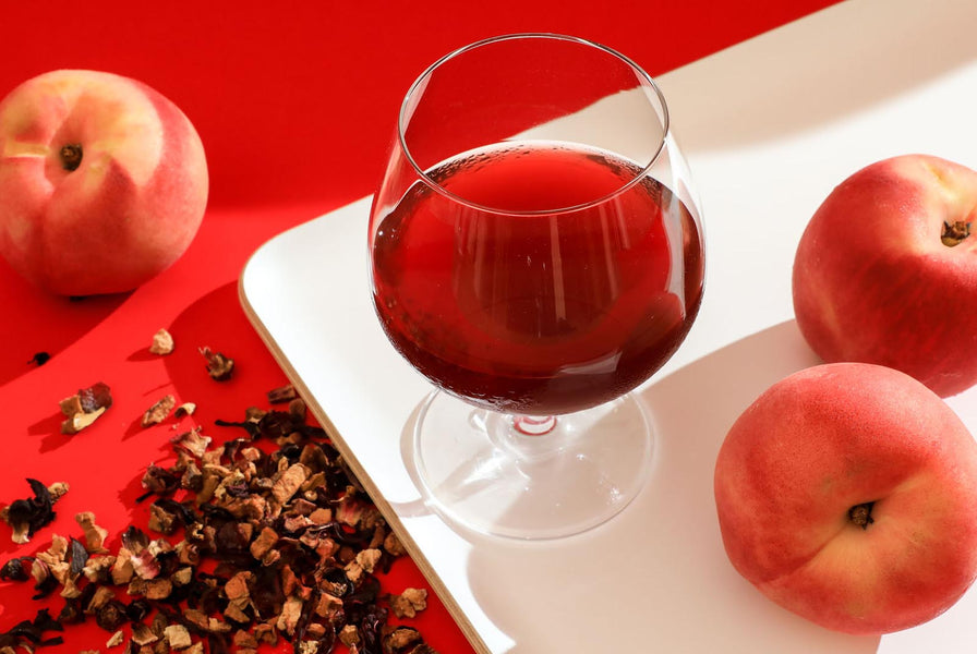 Feeling Romantic? This Homemade Oriental Peach Infused Wine Suits Your Mood