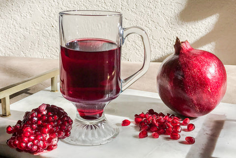 Bill's favorite ALCHEMA recipe-Pomegranate cider