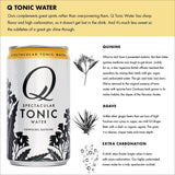 Tonic Water, 7.5 Ounce Slim Can (Pack of 12)