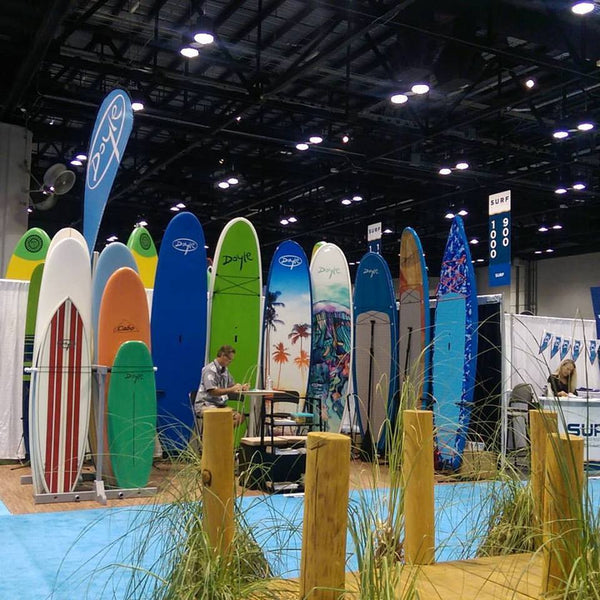 Doyle Surfboards and SUP 2017 SURF EXPO - Orlando FL