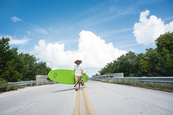 Exploring Big Pine Key on SUP by Regina Nicolardi