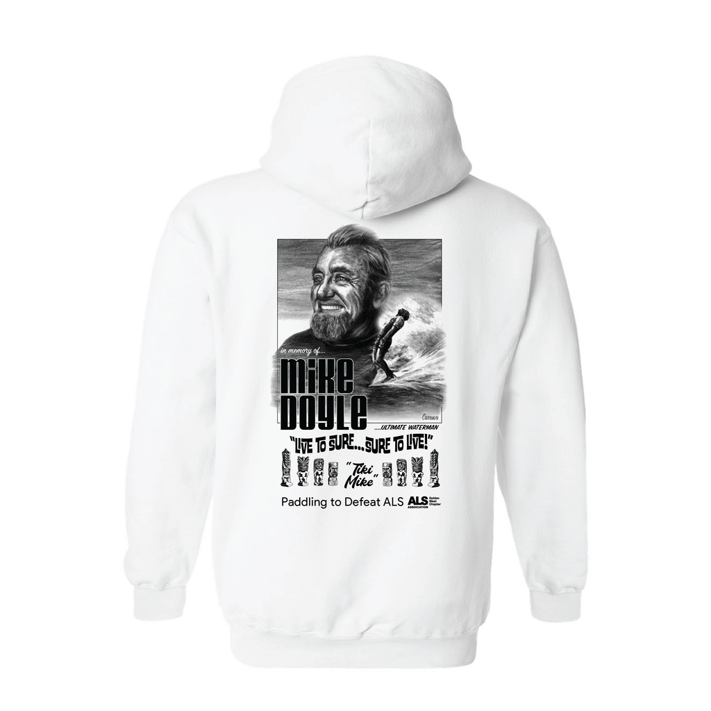 Tiki Mike Memorial Paddleout/ALS Fundraiser Pullover Hoodie