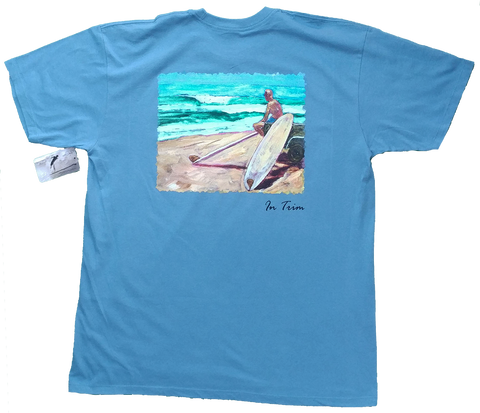 Tiki Mike Memorial Paddleout/ALS Fundraiser Men's T-Shirt