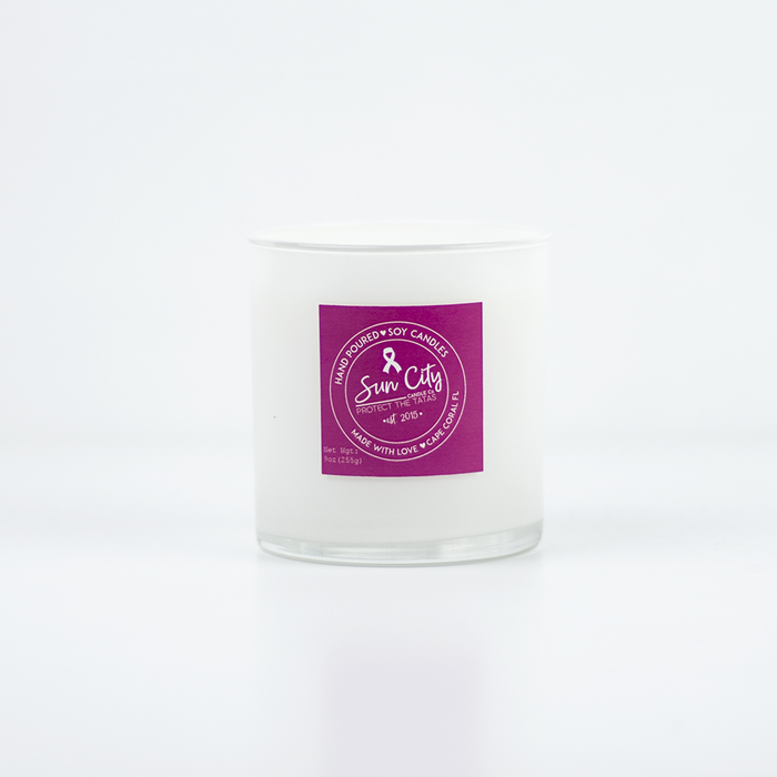 Strength Quote Jar in Sea Salt Blossom Scent