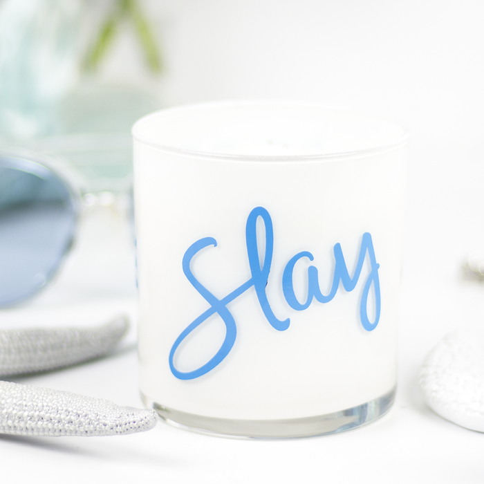 Slay Quote Jar in Peppermint & Vanilla Scent