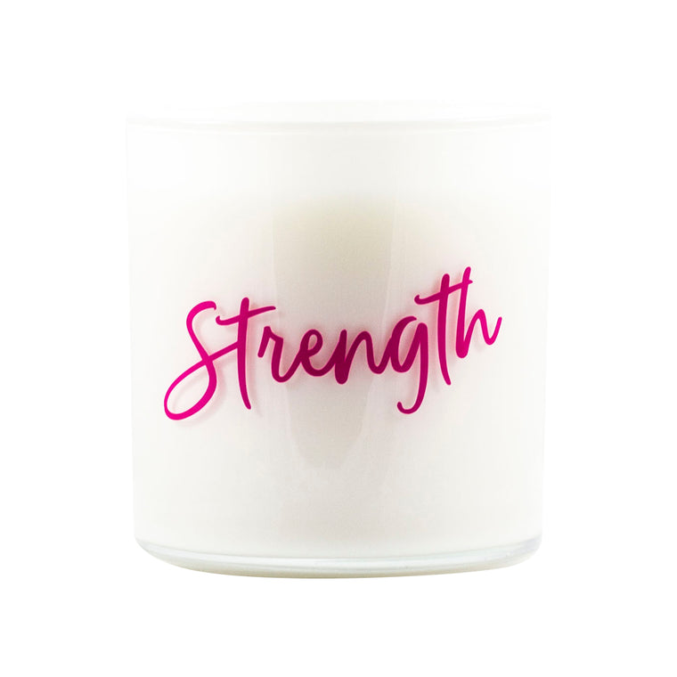 Strength Quote Jar in Candy Apple Scent