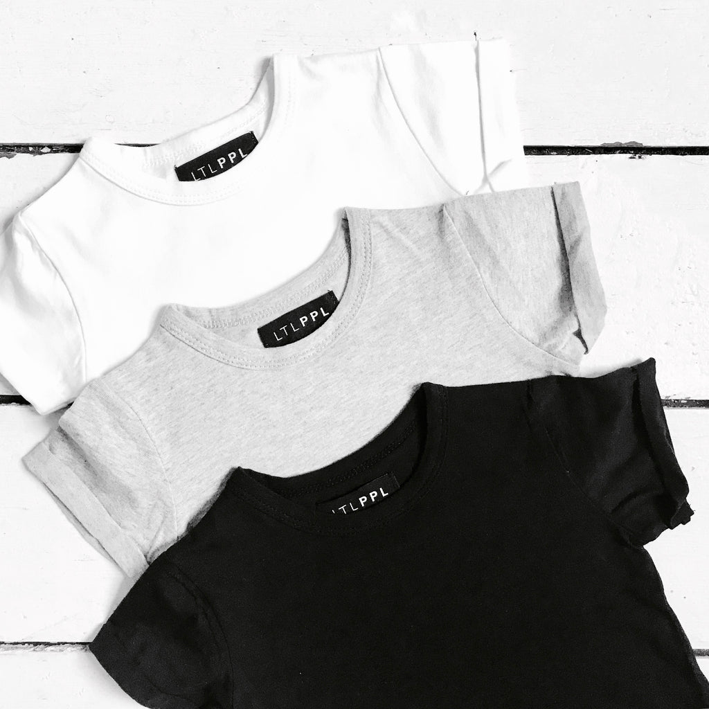 BUY OUR 3 PACK OF BASIC BABY/KIDS TEES & SAVE!