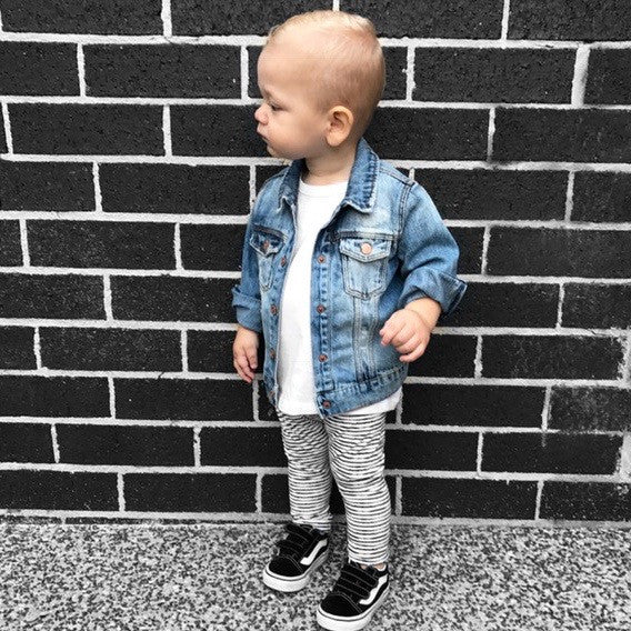 BABY DENIM JACKETS AND JEANS