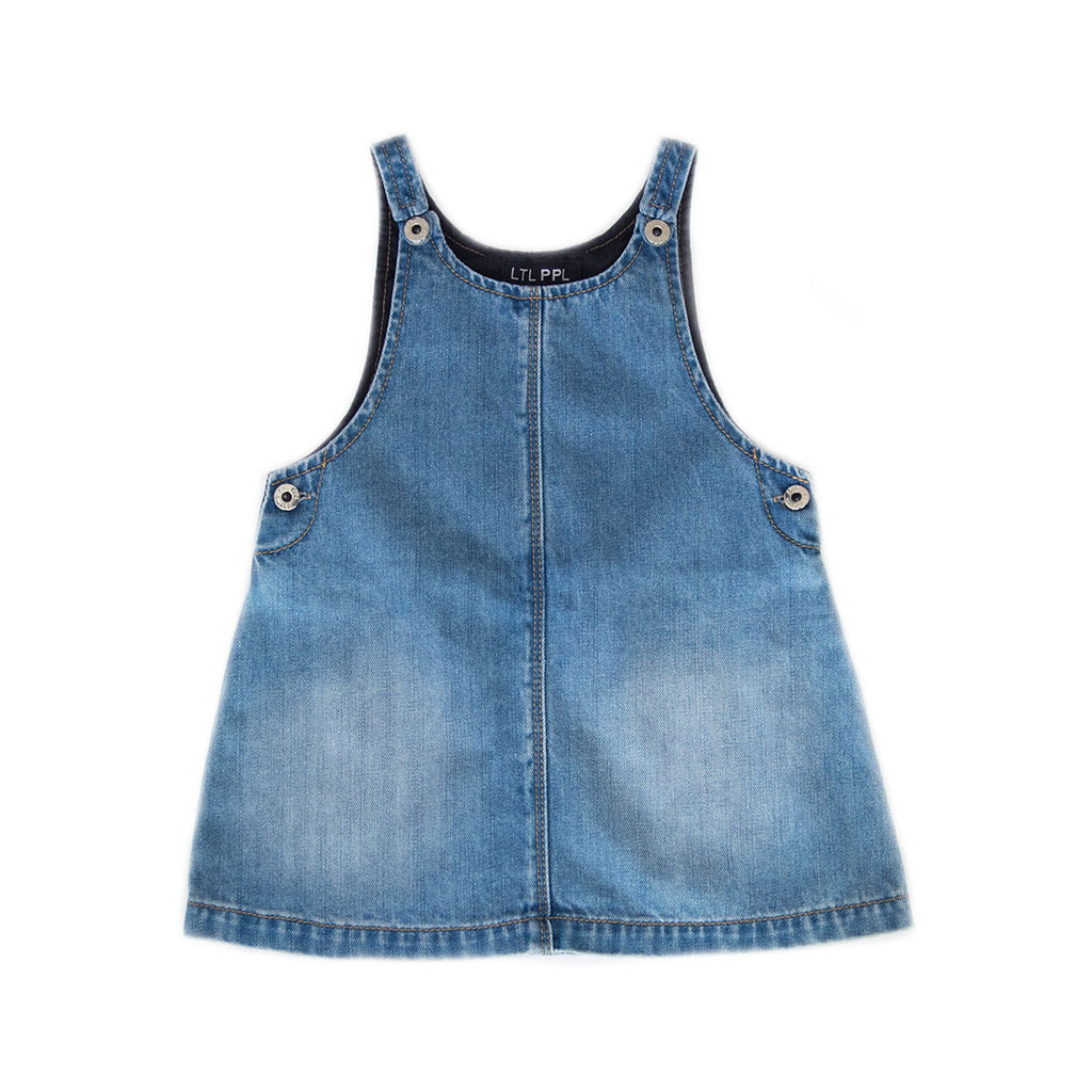Denim Pinafore Dress