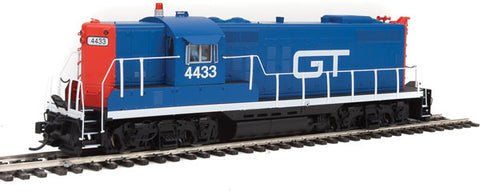 EMD GP9 Phase I - LokSound Select DCC & Sound GTW HO