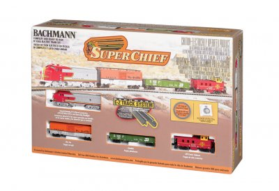 Bachmann Super Chief Train Set N