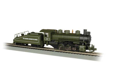 URSA 0-6-0 DC w/Slope-Back Tender and Smoke BLW #56 HO Locomotive
