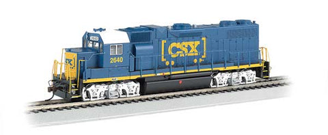 GP38-2 DCC SND CSX #2640 HO Locomotive