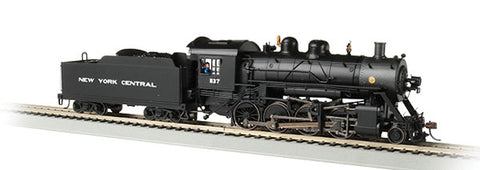 Bachmann 2-8-0 w/DCC & Sound NYC HO Locomotive