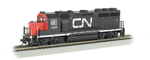 EMD GP40 DCC CN HO Locomotive