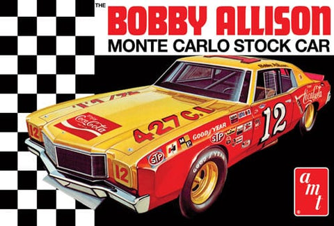1/25 1972 Chevy Monte Carlo Stock Car Coca Cola Bobby Allison
