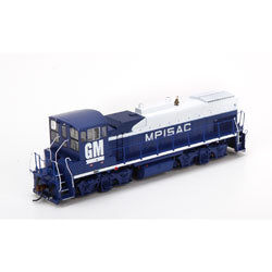 MP15AC DCC/SND EMD Demo #115 Locomotive