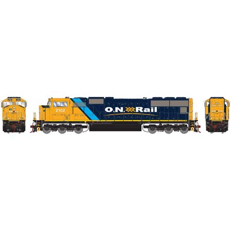 SD75I w DCC & Sound ONT #2102 HO Locomotive