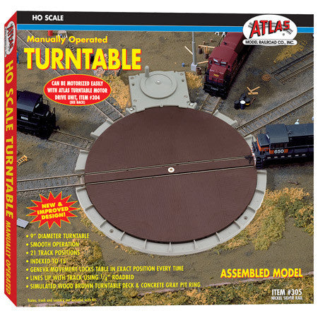 MANUAL TURNTABLE HO