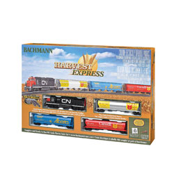 Harvest Express Train Set HO