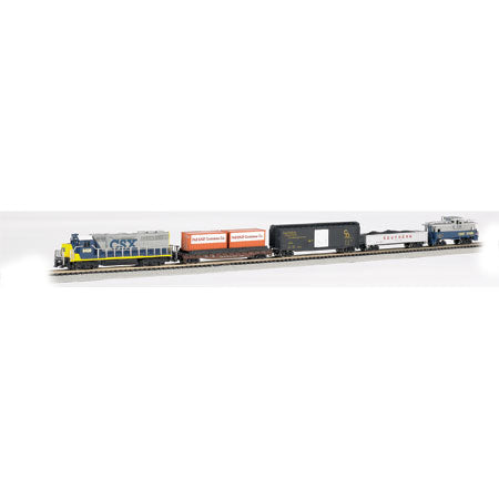 Bachmann N Freight Master Train Set CSX