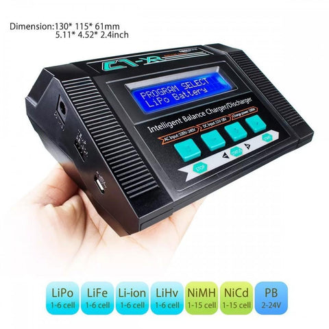 C1-XR 10A AC/DC Multi-chemistry Balance Charger