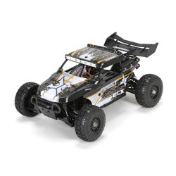 ECX 1/18 Roost 4WD Desert Buggy: Black/Orange RTR