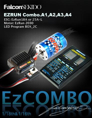 Hobbywing EZRUN Combo for 1/18 Car A2